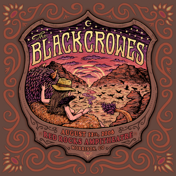 The Black Crowes at Red Rocks