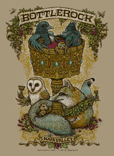 Bottlerock 2014 Poster