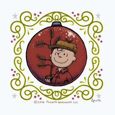 A Charlie Brown Christmas mini print
