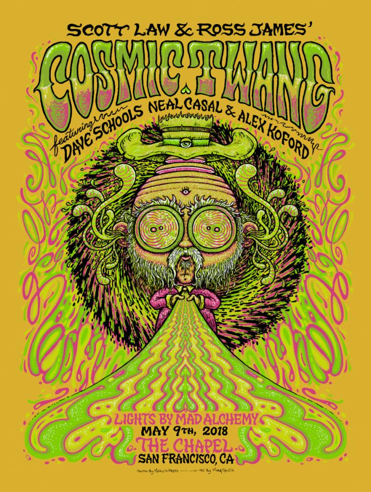 Cosmic Twang Poster