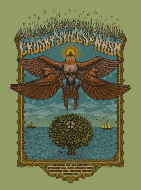 Crosby Stills and Nash California