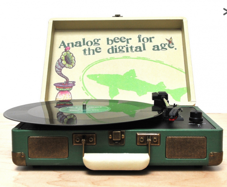 Dogfish Head's Record Store Day Crosley Portable Turntable