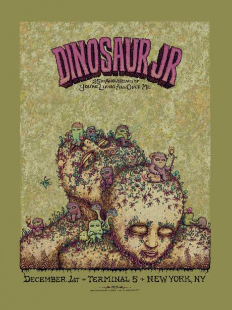 Dinosaur Jr - New York, NY Poster