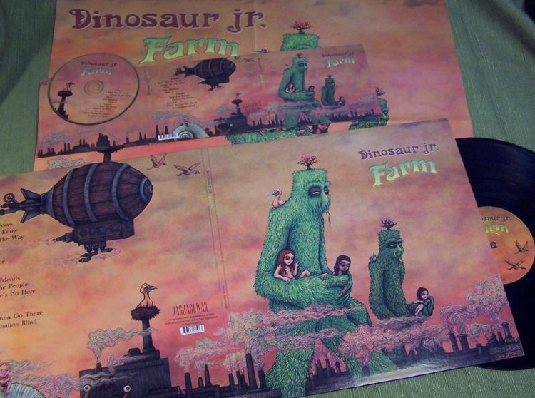 Dinosaur Jr. album spread