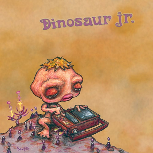 Dinosaur Jr. record cover 2