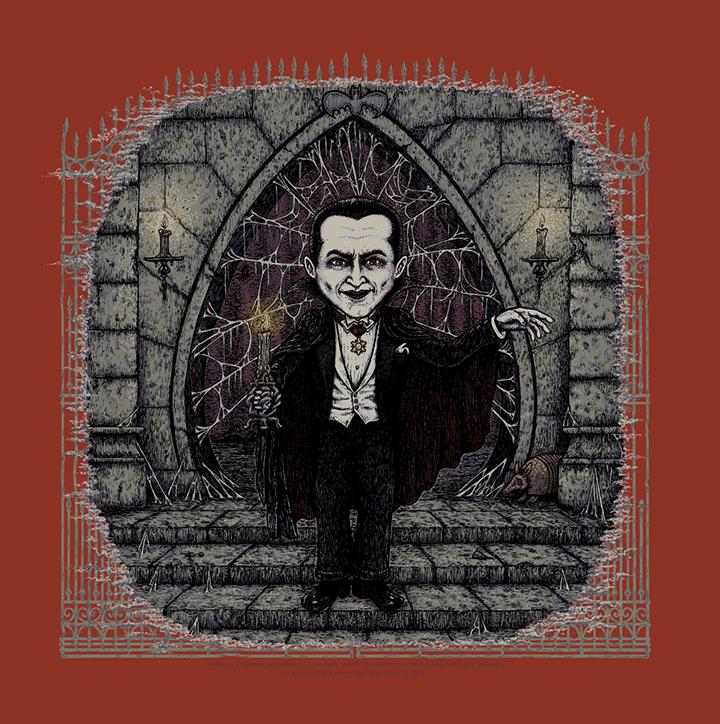 Dracula (Universal Classic Monsters) screen print