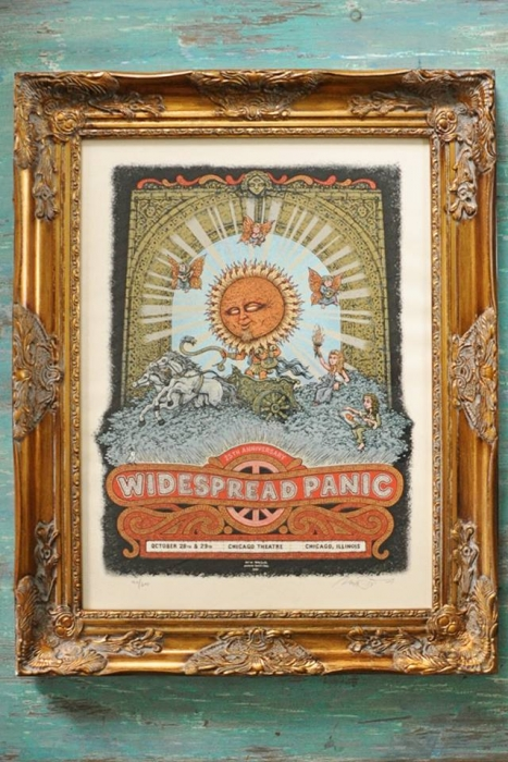 Widespread Panic Chicago Poster
