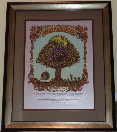Widespread Panic Summer Tour 2011 Purple Variant