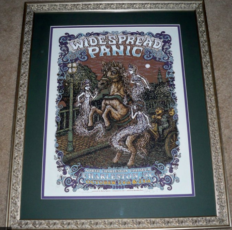 White Widespread Panic - Frame-up Winner