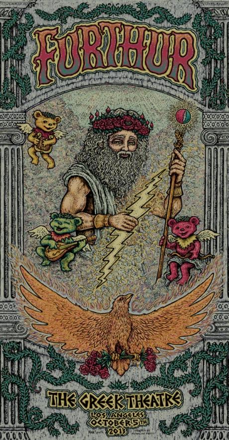 Furthur Greek Poster - Night 2