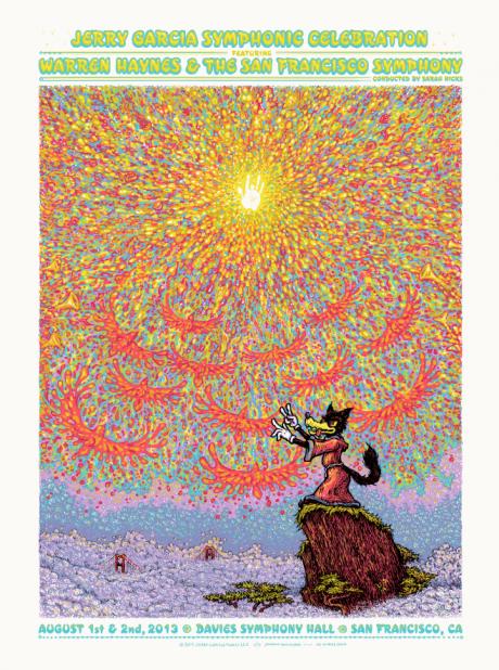 Jerry Garcia Symphonic Celebration Poster