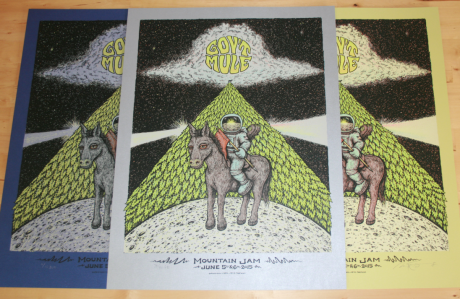 Gov't Mule Mountain Jam Poster