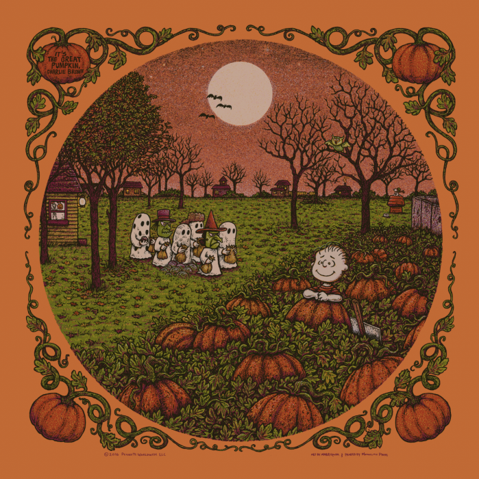 It's The Great Pumpkin, Charlie Brown. Pumpkin Edition of 80.