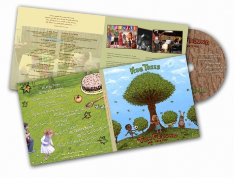 Hug Trees CD packaging