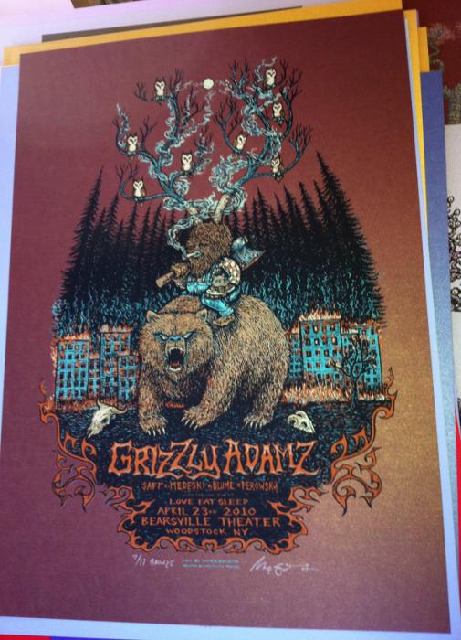 Grizzly Adamz (Bronze of 17)=$80