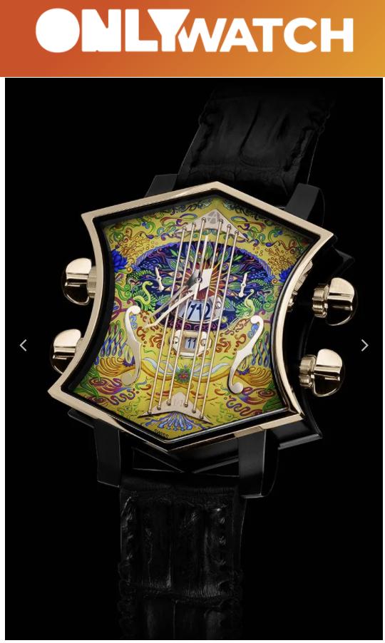 "John McLaughlin ""Is That So?"" edition wristwatch"