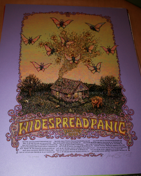 Widespread Panic - 2010 Fall Tour, Purple Variant