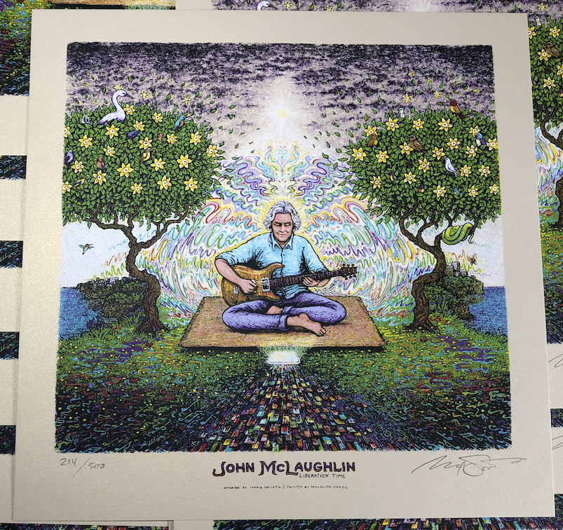 John McLaughlin Liberation Time Print