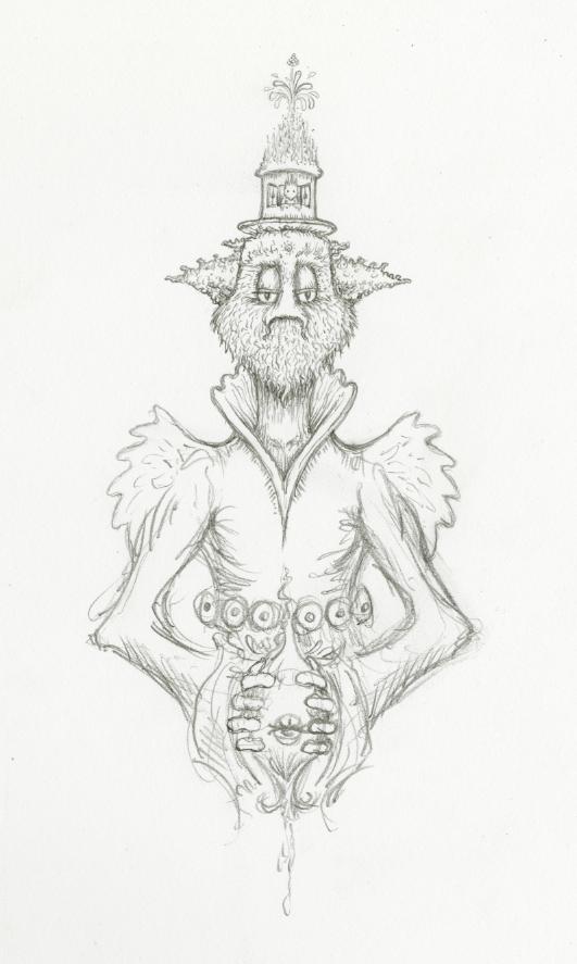 tall sir sketch