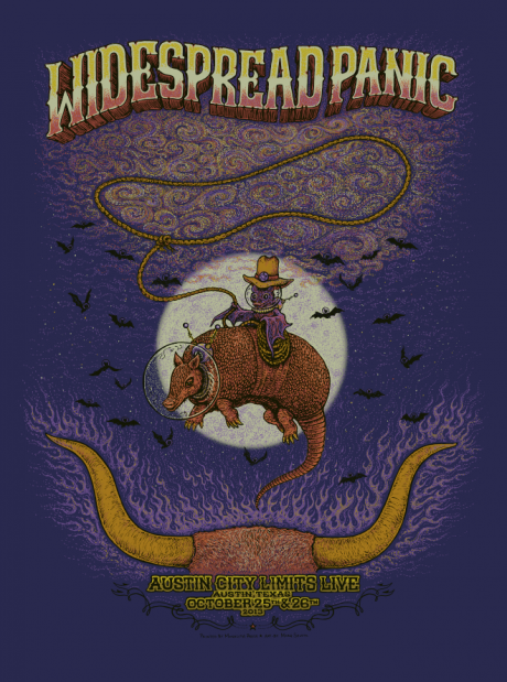 Widespread Panic - Austin City Limits Poster