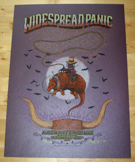 Widespread Panic - Austin City Limits AE Poster