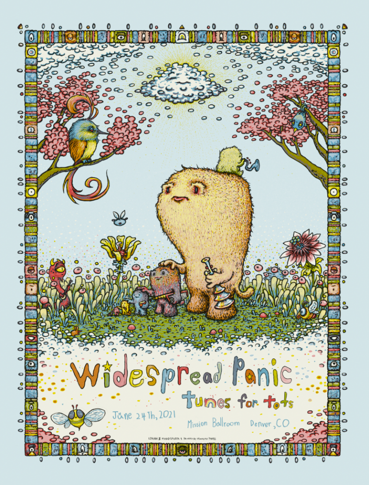 Widespread Panic - Tunes for Tots Poster