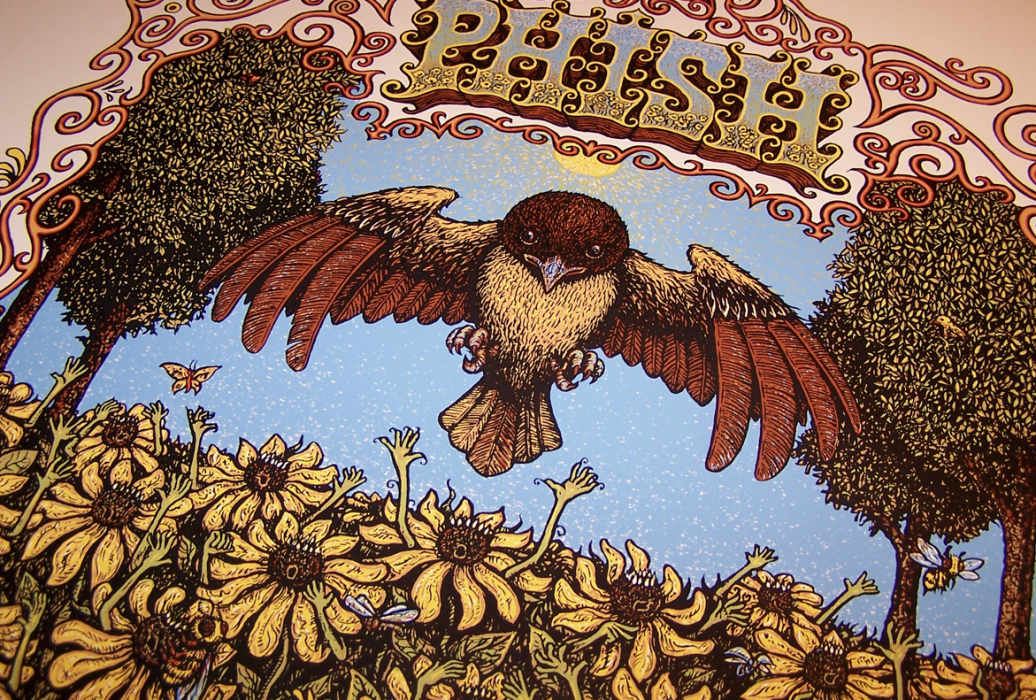 Phish - Merriweather Post Pavilion Poster Close-up