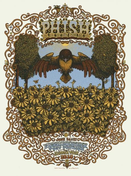 Phish - Merriweather Post Pavilion Poster