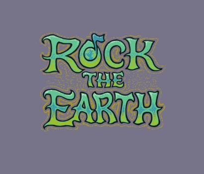 Rock the Earth logo design