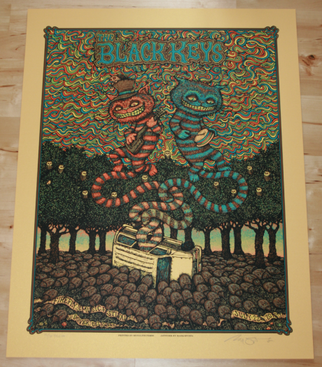 The Black Keys - Firefly Fest Poster