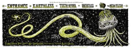 Tee Pee Records Showcase Poster Austin