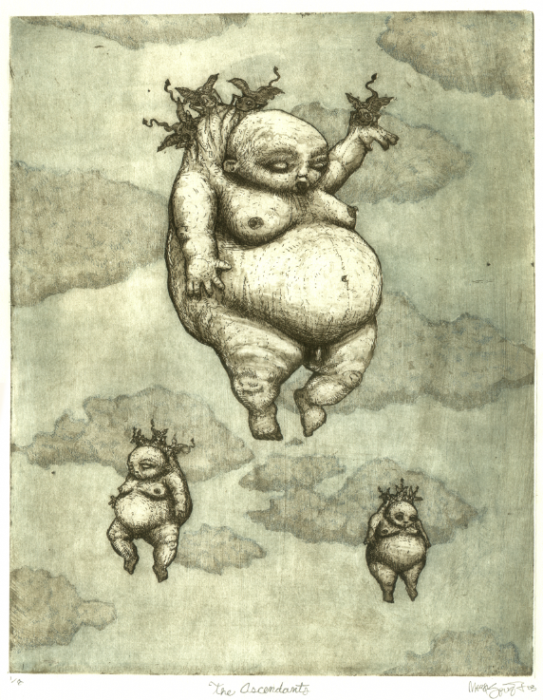 The Ascendants etching
