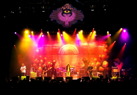 The Black Crowes Stage Illustrations 2