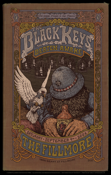 The Black Keys - Fillmore Poster
