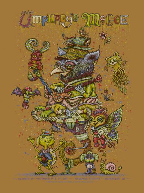Umphrey\'s Mcgee - Milwaukee Halloween Poster