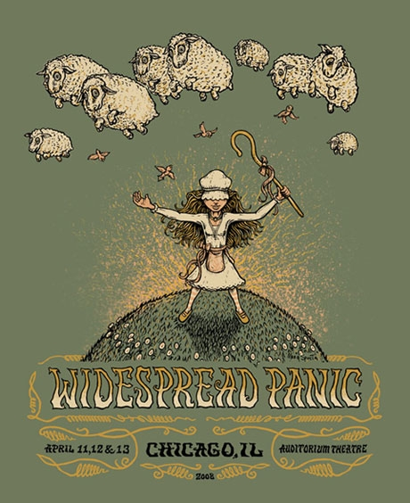 Widespread Panic Event Graphic