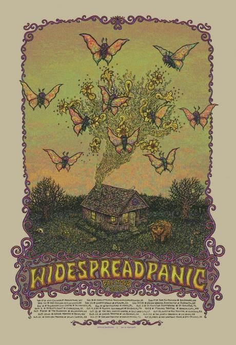 Widespread Panic Fall Tour 2