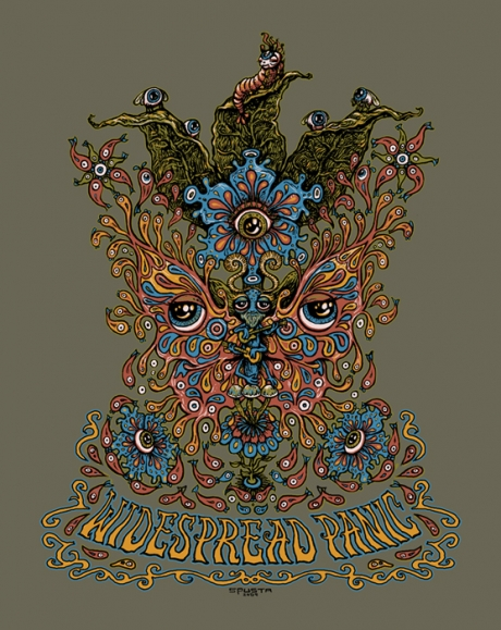 Widespread Panic Graphic