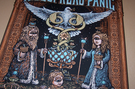 Widespread Panic - Fox Poster Close-up