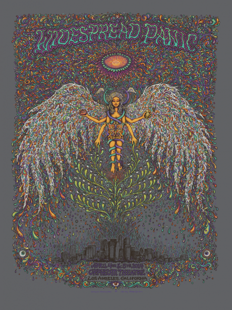 Widespread Panic - Los Angeles Poster