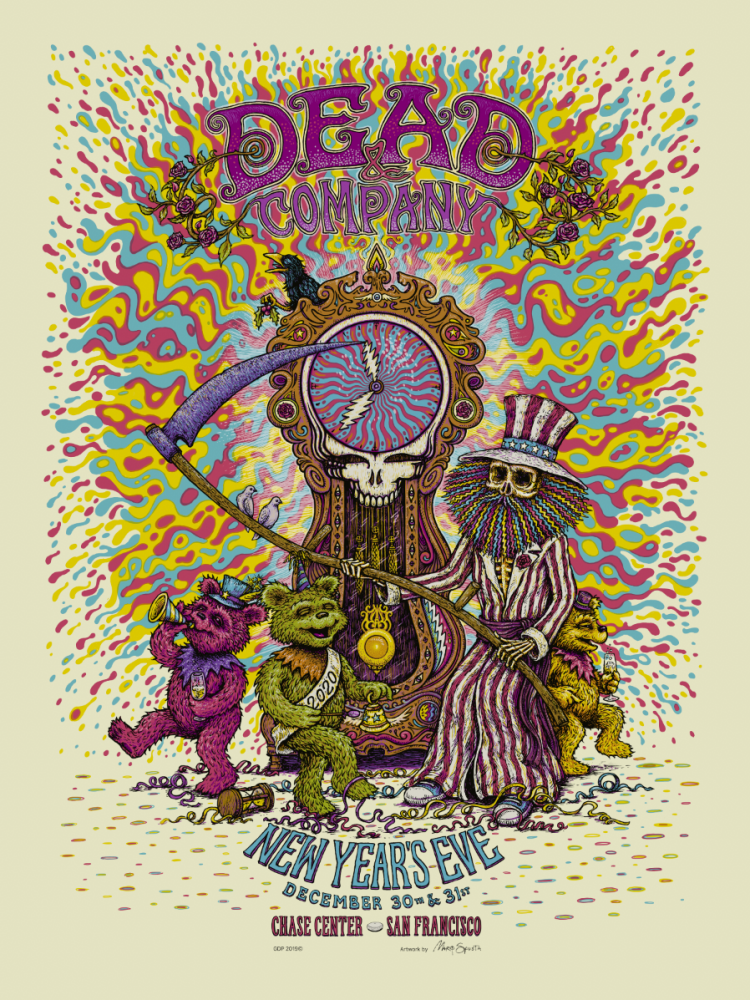 Dead & Company - New Years Eve Poster