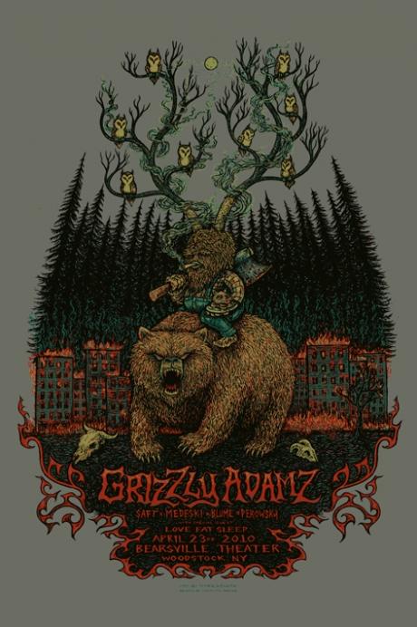 Grizzly Adamz Woodstock