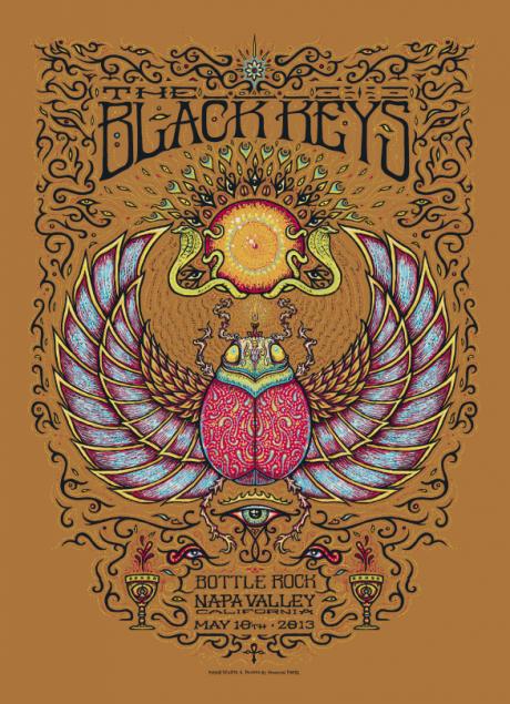 The Black Keys - Bottle Rock Poster